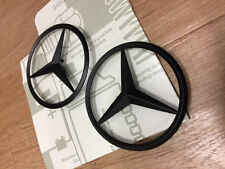 Genuine MERCEDES-BENZ CLASSE A W176 NERO POSTERIORE BOOT BADGE EMBLEM Star A45 AMG