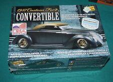 1937 Custom Ford Convertible Lindberg 1/24 Factory Sealed.