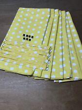 Polka Dot Camper Van Curtain Set Yellow/ WHITE, VW T25,Blackout/Magnets