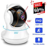 Wireless IP Camera Security 1080P HD WIFI IR Surveillance System Detector Home