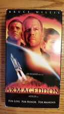 Armageddon VHS Video Movie VCR Bruce Willis, Billy Bob Thornton, Ben Affleck