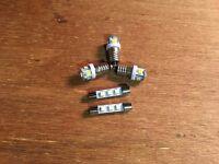 LED LAMP KIT RECEIVER SX-9000 (8V-WARM WHITE) DIAL METER STEREO BULB Pioneer