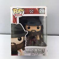 Funko Pop! WWE Bray Wyatt #28 Action Figure Wrestling (The Fiend) - Box Damage