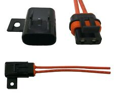 10 Pack ATM MIN Waterproof In-Line Mini Blade Fuse Holder 12 Gauge Tinned Marine