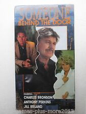 Someone Behind the Door (VHS, 1992) Brand New (Charles Bronson, Anthony Perkins)