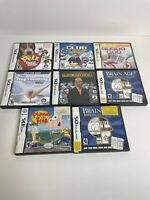 Nintendo DS Game Lot Of 8 Games - Bundle - Tested And Working