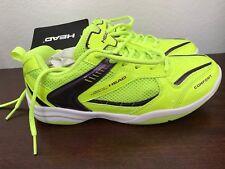 Men's Head Indoor Court Shoe Lime Green Size 6.5