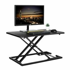 Standing Desk Height Adjustable Converter Sit To Stand Table Stand Up Office New