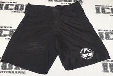 Bas Rutten Signed Official MMA Fight Shorts Trunks BAS Beckett COA UFC Autograph