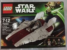 Lego Star Wars A-Wing Starfighter 75003 (2013) Brand New