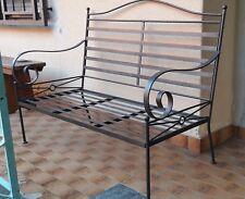 Panchina/Poltrona in ferro da giardino terrazzo (usata)