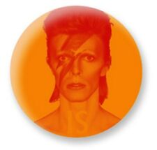DAVID BOWIE ...is a Face in the Crowd ALADDIN SANE Pin Badge V&A EXHIBITION ONLY