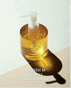 <British M> Organics Annatto Hair Oil  / korea cosmetic