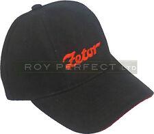 Zetor Tractor Black Baseball Cap Hat