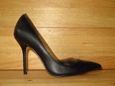 ZARA Basic Collection Black Leather High Heels Womens US 9.5/EU 41