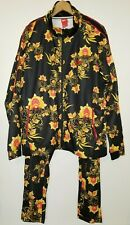 Nike Tracksuit N98 Floral Tribute Jacket 909240-719 Black Yellow Red XXL