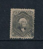 United States - 1863 - 24¢ Washington - Lilac - Perf 12 - SC 78 - USED - 21-H