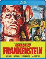 HORROR OF FRANKENSTEIN New Sealed Blu-ray 1970 Hammer Films