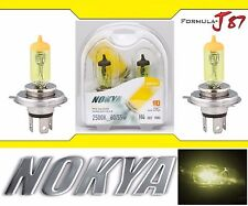 Nokya 2500K Yellow 9003 HB2 H4 Nok7613 60/55W Head Light Bulb Dual Beam Replace