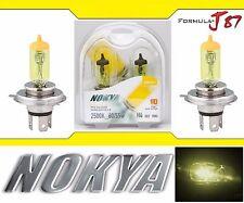 Nokya 2500K Yellow 9003 HB2 H4 Nok7613 60/55W Head Light Bulb Dual Beam Replace