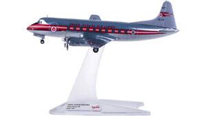1:200 Herpa TRANS CANADA Vickers Viscount 700 Passenger Airplane Diecast Model