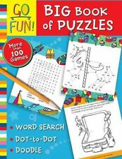 Go Fun Big Book Of Puzzles - More than 100 Games - Word Search - Brand New
