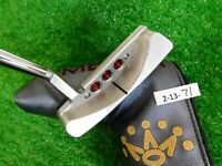 "Titleist Scotty Cameron 2018 Select Laguna 35"" Putter with Headcover"