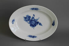 Royal Copenhagen Blaue Blume glatt ovale Platte L.= 25 cm # 8015 2.Wahl Schale