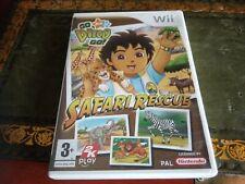 Go Diego Go! gran Safari Rescue-Nintendo Wii Juego
