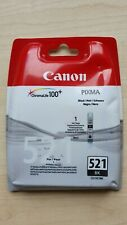 CANON chromalife 100+ pixma series black ink catridge 521 bk