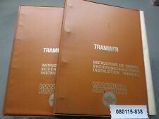 Manurhin Traminer 13-20 Service Instructions Manual and additional Prints Manual