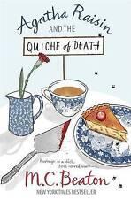 """""""NEW"""" Agatha Raisin and the Quiche of Death, Beaton, M.C., Book"""