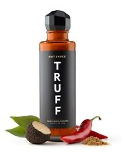 TRUFF Hot Sauce, Gourmet Hot Sauce with Ripe Chili Peppers, Black Truffle 6 oz