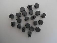 LEGO   20 graue 1er Bausteine/Konverter mit 2 Noppen/Löcher/Knöpfe   NEUWARE