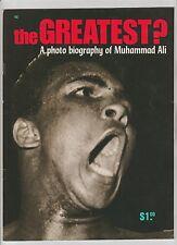 "MUHAMMAD ALI PHOTO BIOGRAPHY ""THE GREATEST?"" RARE 1971 BOXING MAGAZINE NEAR MINT"