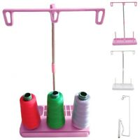 Thread Rack 3 Spool Holder Stands Fit Household Sewing hine Multicolor Useful