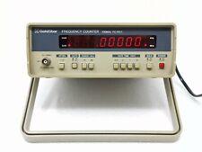 Goldstar fc-7011 100 mhz frequency counter contatore di frequenza tester misura