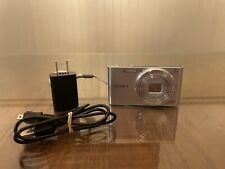 Sony Cyber-Shot DSC-W830 20.1MP Digital Camera - Silver Battery, Cable, and Plug