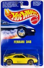 Hot Wheels Ferrari 348 guh, Gold Ultra Hot Wheels, International Card - RARE