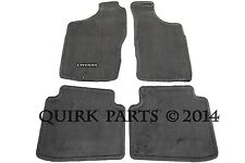 2000-2004 Nissan Xterra | Gray Carpeted Floor Mat Front & Rear Set of 4 OEM NEW