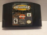 Tony Hawk's Pro Skater 3 (Nintendo 64, N64) -- Authentic Game Cart with manual