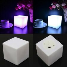 Changing Mood Cubes Night Glow Lamp Light Gadget Romantic Led Lighting 7 Color