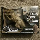 Remote Control Walking Dragon ~ Brown ~ Roar Sounds~ Wired Fossil Remote Control