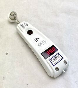 EXERGEN TAT5000 INFA RED TEMPORAL FOREHEAD HOSPITAL GRADE THERMOMETER 2017
