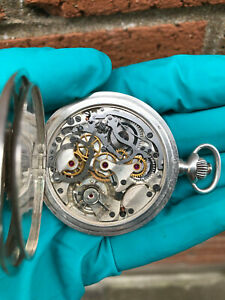 1920s Excelssior Park Solid silver Chronograph