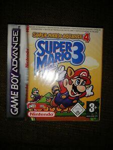GAME BOY ADVANCE - Super Mario Bros. 3 - Nuevo a estrenar - Precinto rojo origen