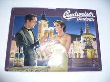"Budweiser nostalgia escudo"" 2 personas. + plaza del mercado Budweis ""Samson pozo"" - nuevo"