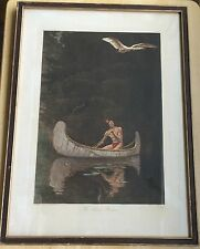 "Vintage George De Forest Brush ""The Silence Broken"" Chromolithograph - 12"" x 16"""