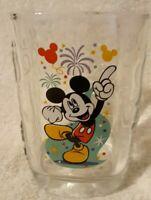 Walt Disney World Celebration Glass 2000 McDonalds Mickey Mouse Magic Kingdom