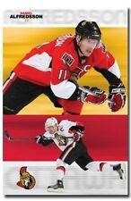 HOCKEY POSTER Daniel Alfredsson Ottawa Senators NHL